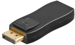 HDMI- / DisplayPort-Adapter, HDMI19 Typ A Buchse <> DP20 Stecker